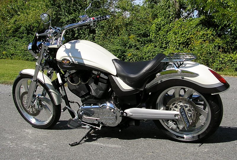 My Current Ride -- 2007 Victory Vegas