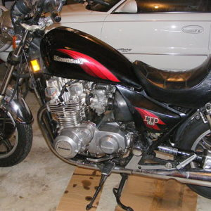The Project Bike -- 1984 Kawasaki ZN1100 LTD