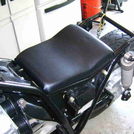 Building a bobber-style saddle (3 of 3)