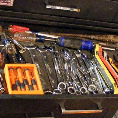Wrenches and screwdrivers