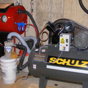 My sandblasting rig