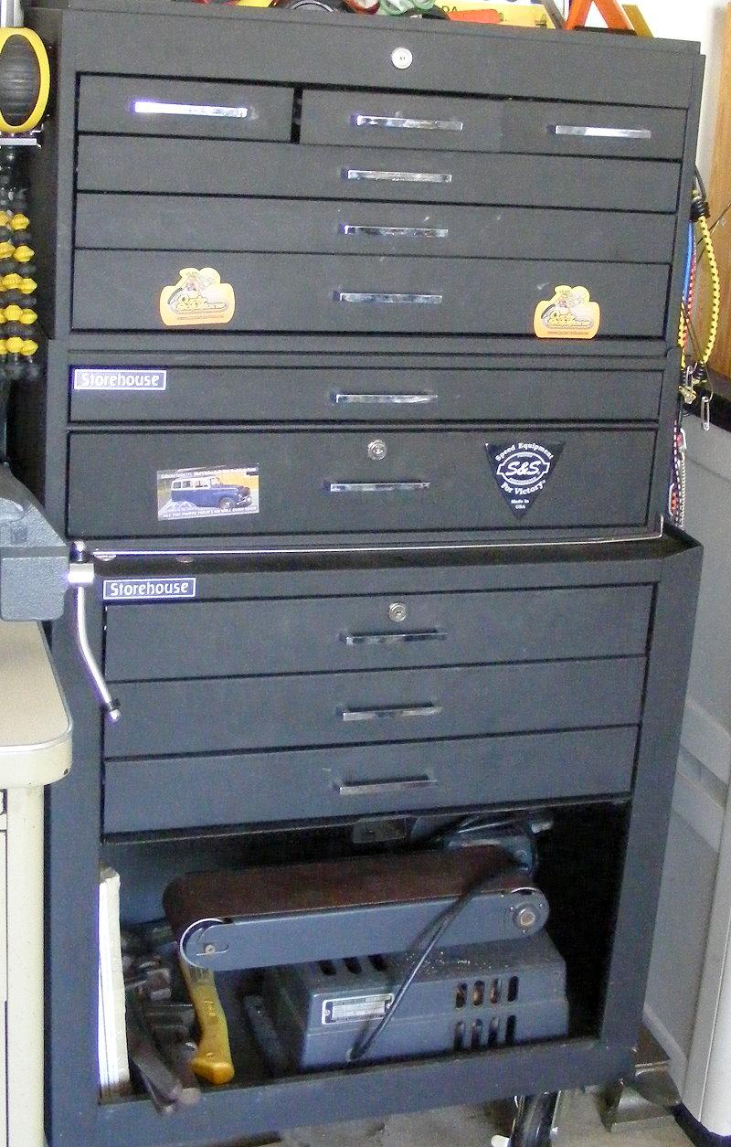 Shop-cabinet